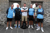 Manchester City FC's coaches visit the Great Wall