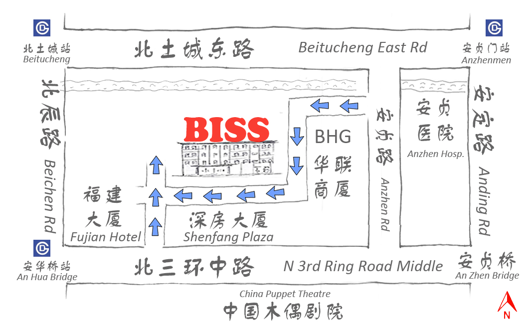 biss route map
